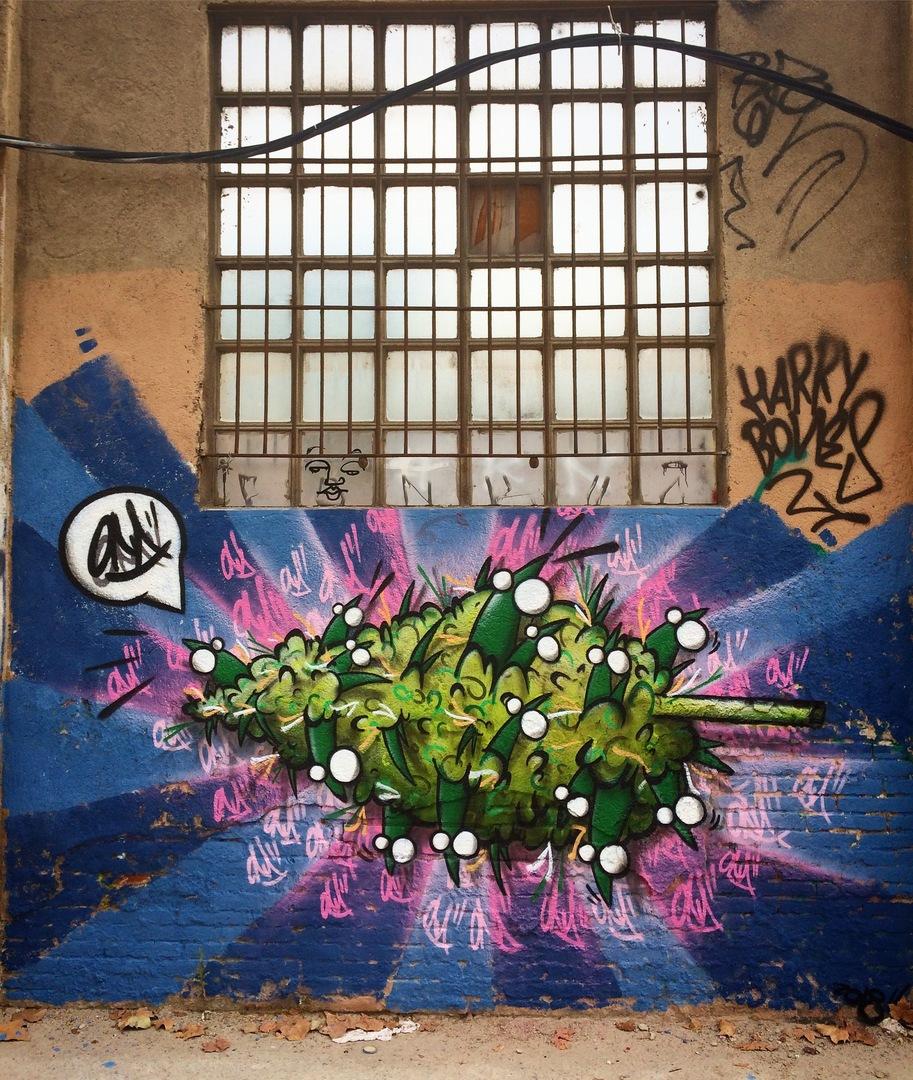 Wallspot - ONA - Poble Nou - ONA - Barcelona - Poble Nou - Graffity - Legal Walls - Lletres, Il·lustració, Altres