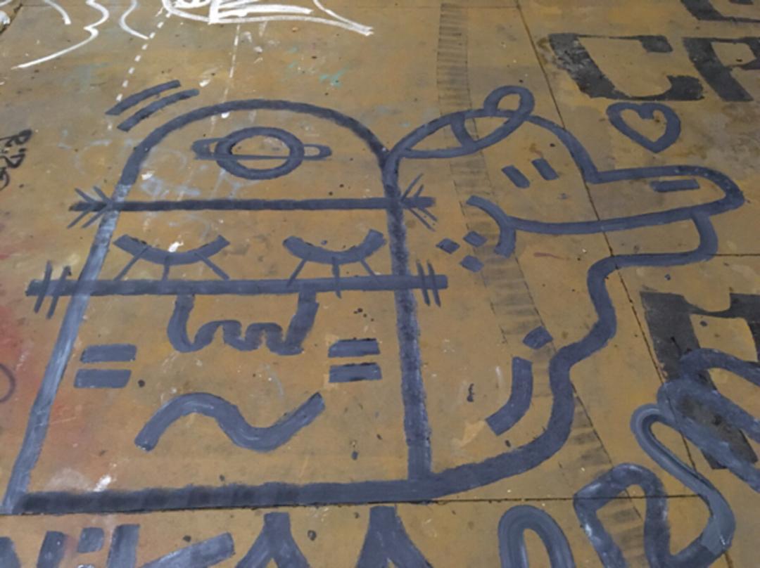 Wallspot - V2M -  - Barcelona - CUBE tres xemeneies - Graffity - Legal Walls -