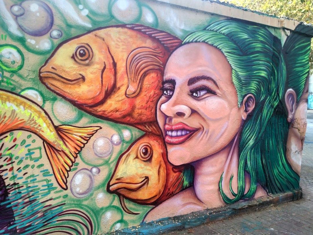 Wallspot - evalop - evalop - Proyecto 24/08/2018 - Barcelona - Agricultura - Graffity - Legal Walls - Il·lustració - Artist - wz_1984