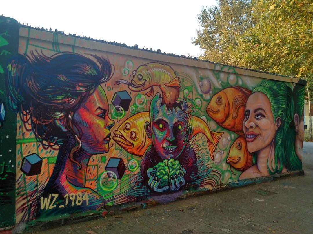 Wallspot - evalop - evalop - Proyecto 24/08/2018 - Barcelona - Agricultura - Graffity - Legal Walls - Ilustración - Artist - wz_1984