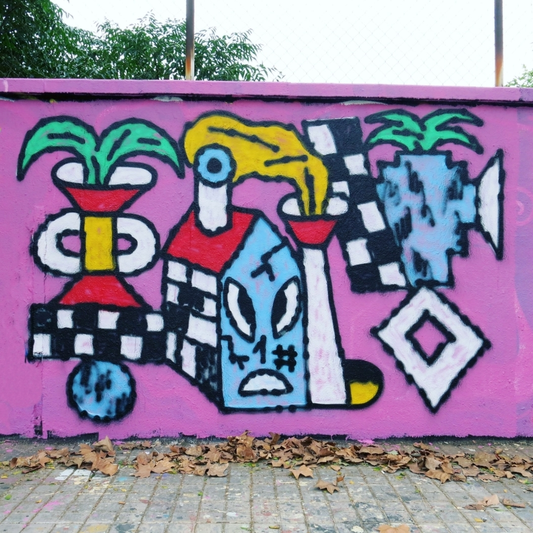 Wallspot - Osier Luther - Agricultura - Barcelona - Agricultura - Graffity - Legal Walls -