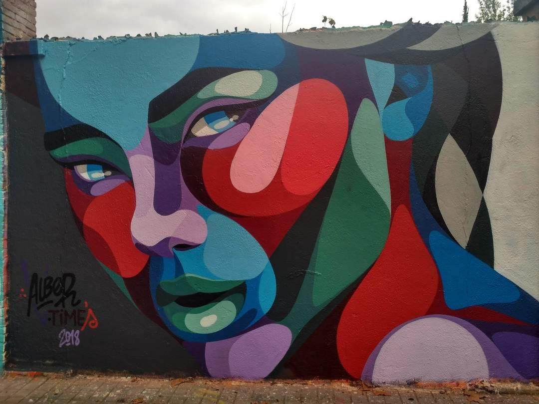 Wallspot - evalop - Alber V Times - Barcelona - Agricultura - Graffity - Legal Walls - Il·lustració