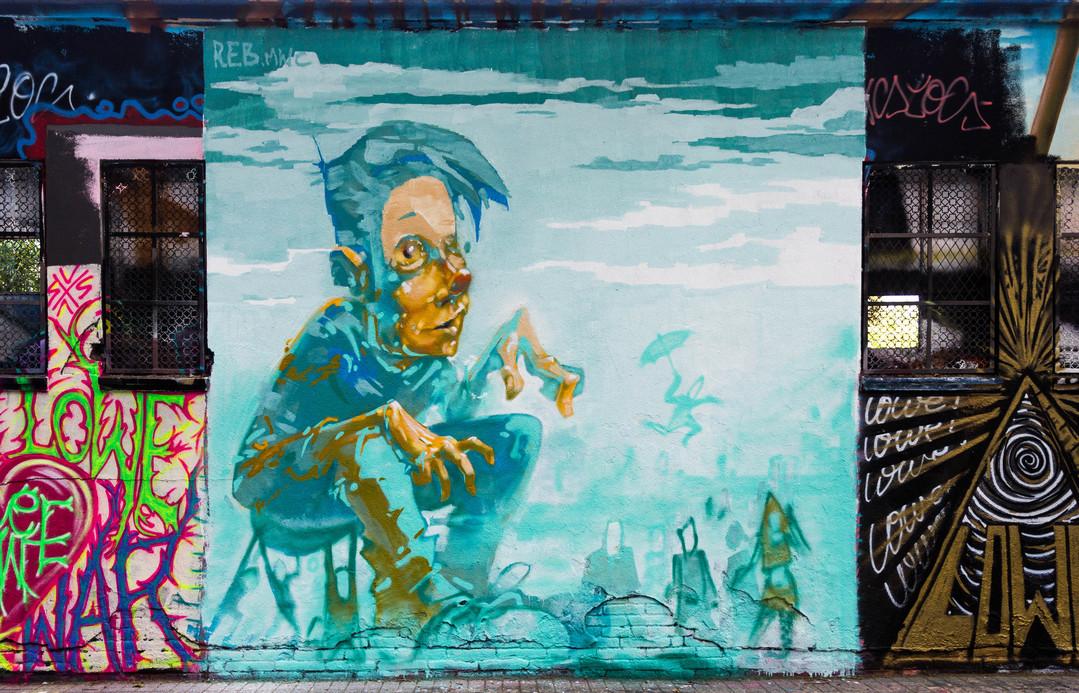 Wallspot - JOAN PIÑOL - REB.MWC - Barcelona - Agricultura - Graffity - Legal Walls -  - Artist - reb.mwc
