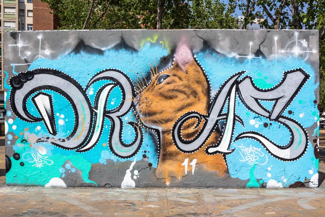 Wallspot - JOAN PIÑOL - JOAN PIÑOL - Projecte 15/09/2018 - Barcelona - Agricultura - Graffity - Legal Walls -
