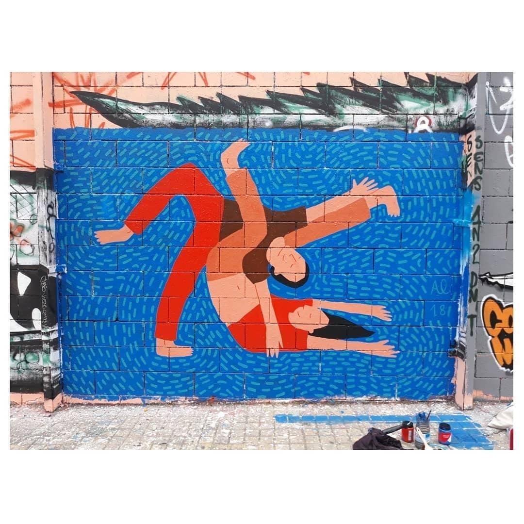 Wallspot - ansloi - Drassanes - Barcelona - Drassanes - Graffity - Legal Walls - Illustration