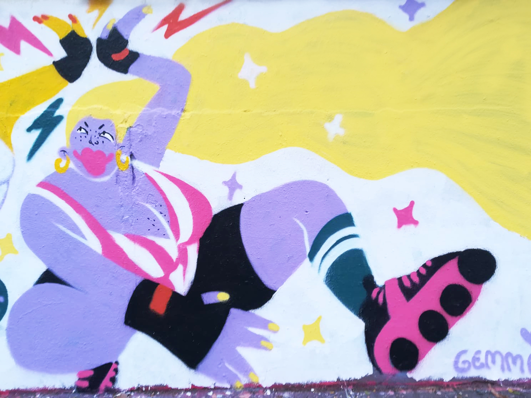 Wallspot - gemfontanals - Skate Date - Barcelona - Agricultura - Graffity - Legal Walls - Illustration