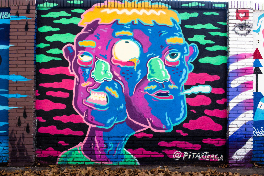 Wallspot - JOAN PIÑOL - @pitarteaga - Barcelona - Selva de Mar - Graffity - Legal Walls - Illustration - Artist - pitarteaga