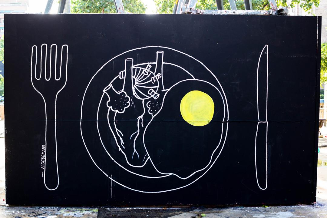 Wallspot - JOAN PIÑOL - ALGODEMASS - Barcelona - Selva de Mar - Graffity - Legal Walls - Illustration - Artist - algodemass