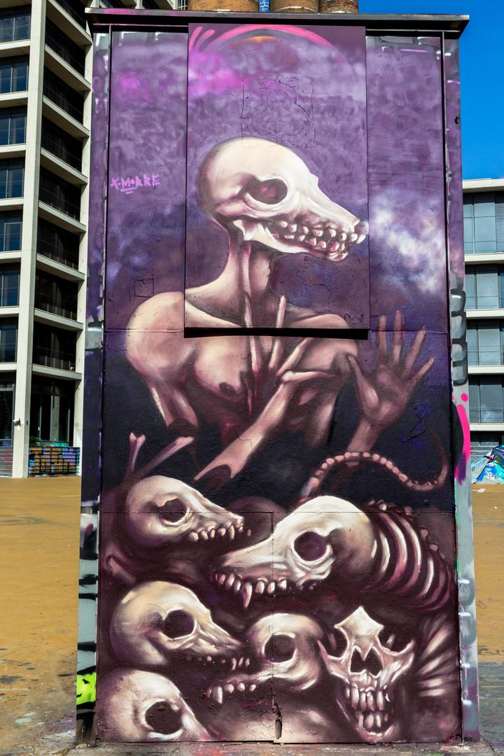 Wallspot - JOAN PIÑOL - JOAN PIÑOL - Projecte 22/09/2018 - Barcelona - Tres Xemeneies - Graffity - Legal Walls - Illustration