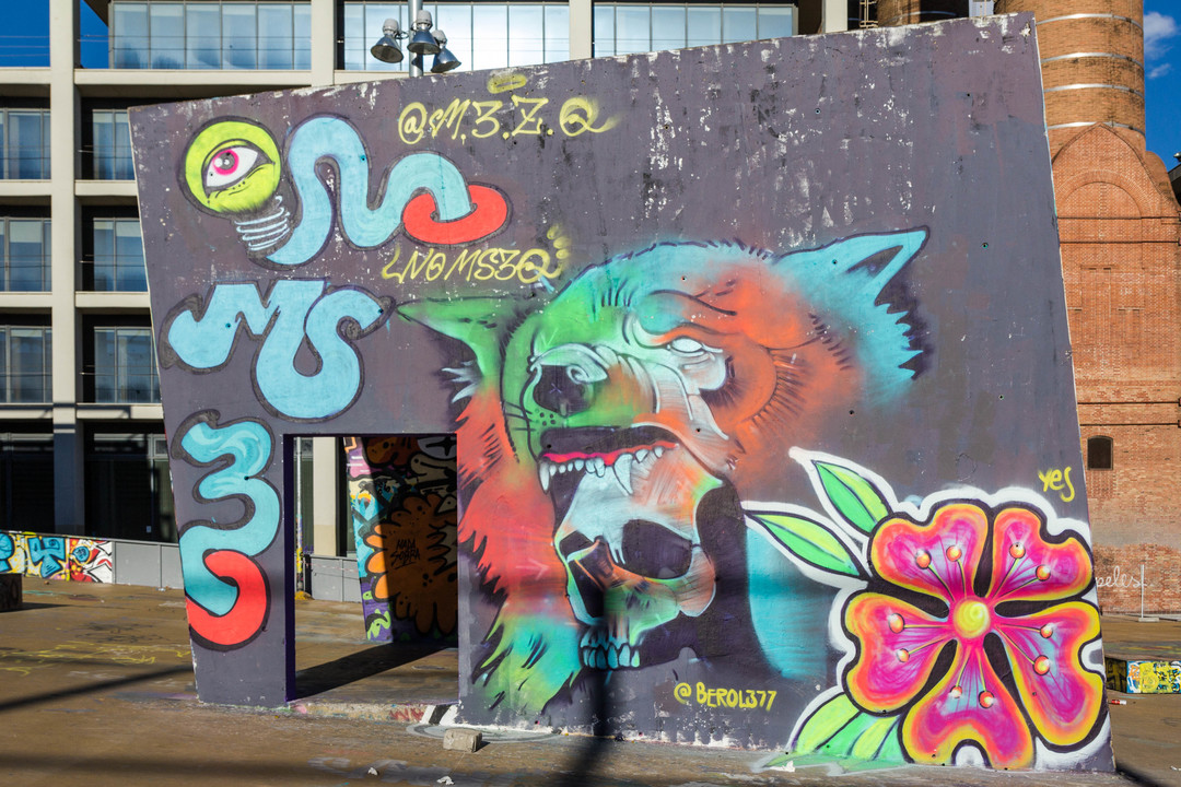 Wallspot - JOAN PIÑOL - BEROL - Barcelona - Tres Xemeneies - Graffity - Legal Walls - Illustration - Artist - Berol377