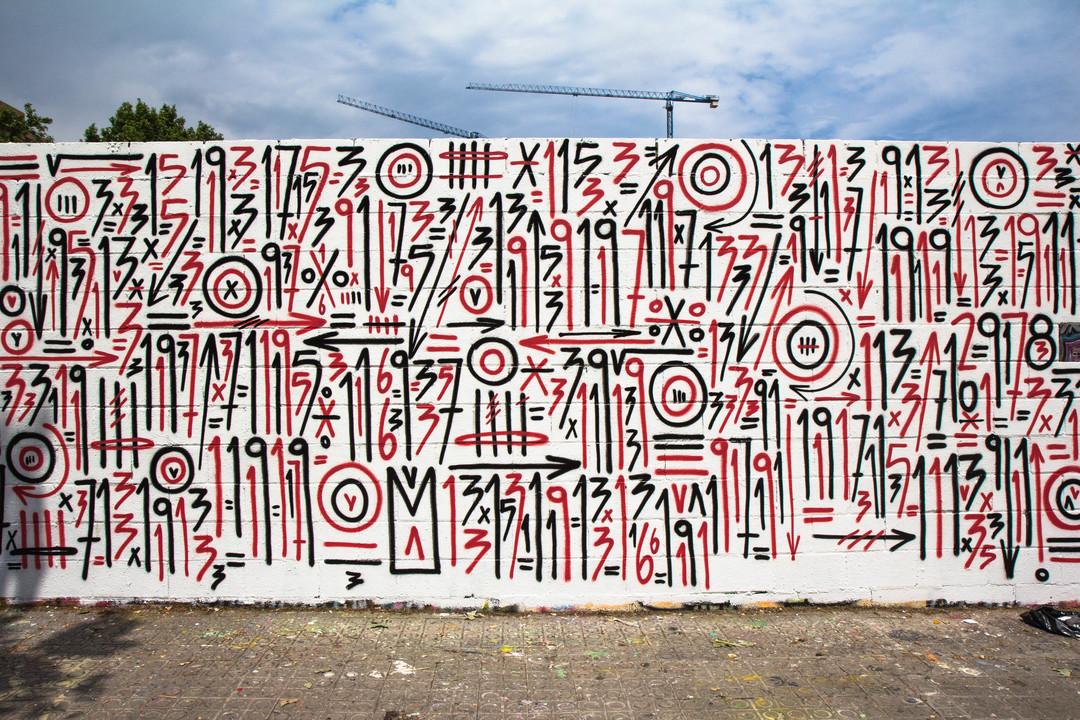 Wallspot - JOAN PIÑOL - JOAN PIÑOL - Projecte 28/09/2018 - Barcelona - Poble Nou - Graffity - Legal Walls - Il·lustració
