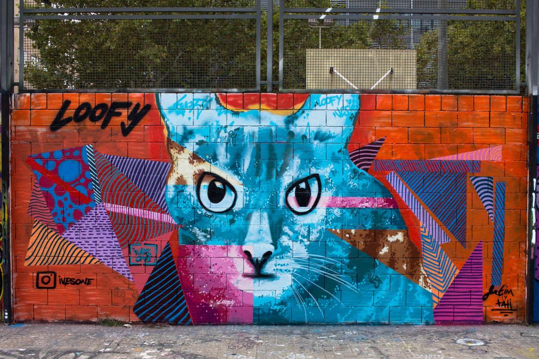 Wallspot - JOAN PIÑOL - IVESONE - Barcelona - Drassanes - Graffity - Legal Walls -  - Artist - ives.one