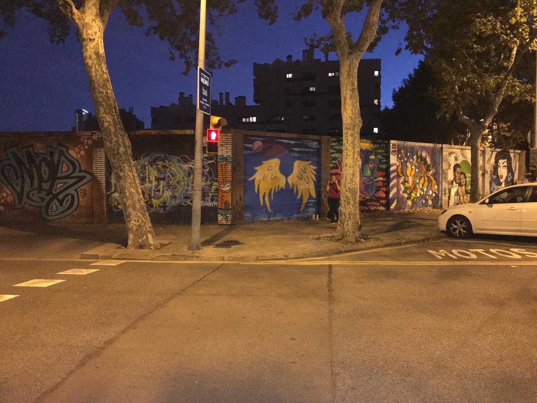 Wallspot - OksanaPro -  - Barcelona - Selva de Mar - Graffity - Legal Walls -