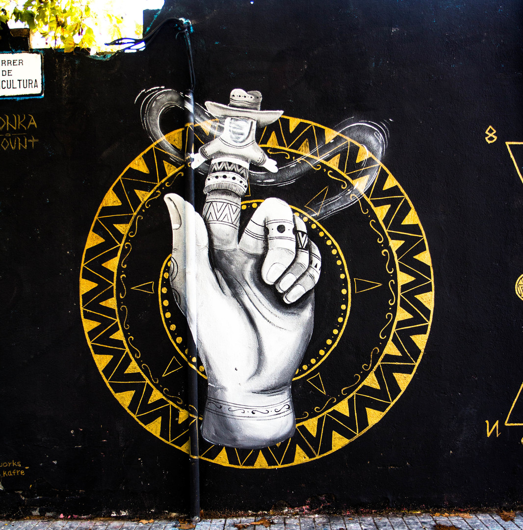 Wallspot - JOAN PIÑOL - LEON KA - Barcelona - Agricultura - Graffity - Legal Walls - Illustration