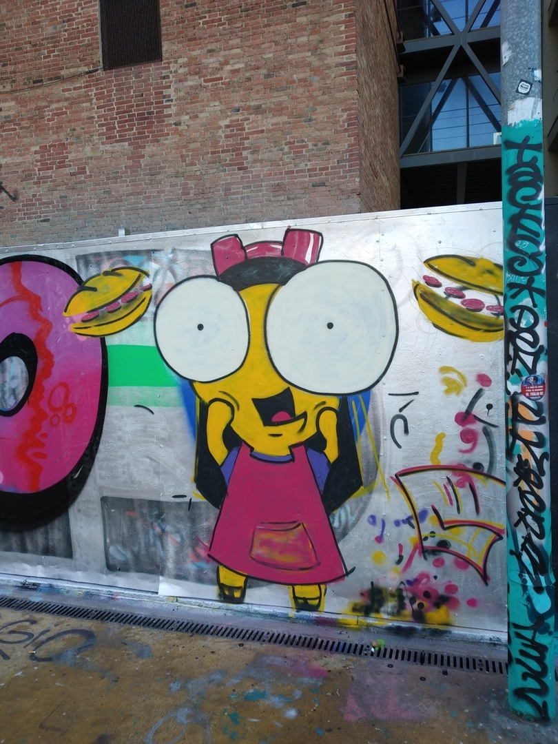 Wallspot - Guido - Boja per les bocatas - Barcelona - Tres Xemeneies - Graffity - Legal Walls - Illustration