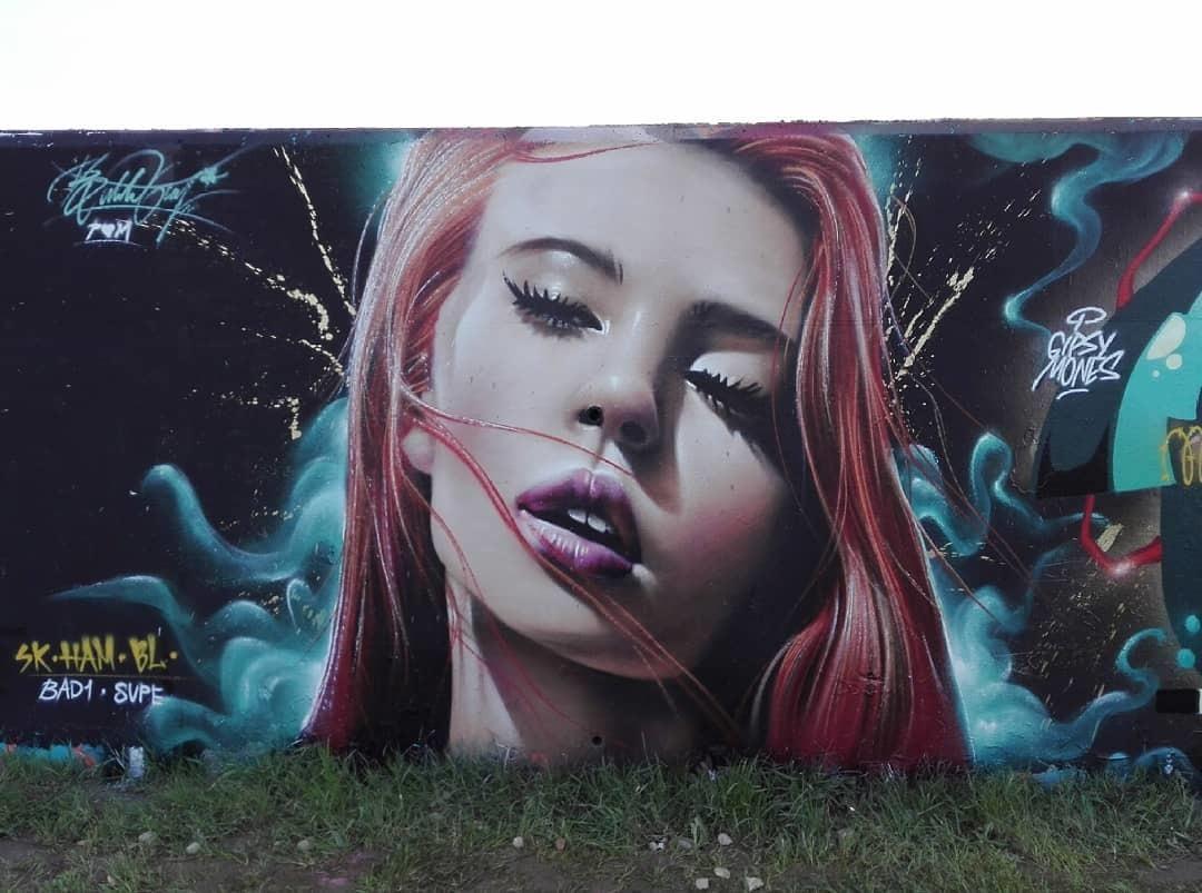 Wallspot - Bublegum - Forum beach - Bublegum - Barcelona - Forum beach - Graffity - Legal Walls - Il·lustració