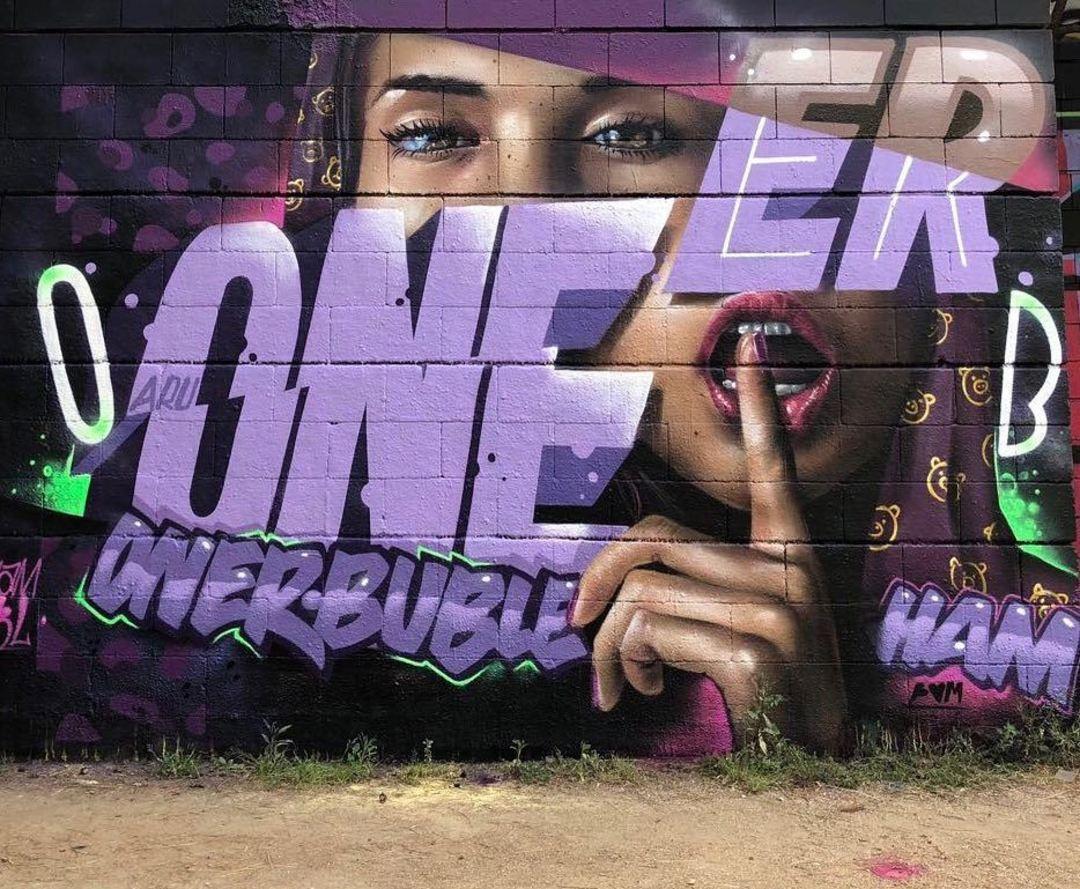 Wallspot - Bublegum - Drassanes - Bublegum - Barcelona - Drassanes - Graffity - Legal Walls - Lletres, Il·lustració