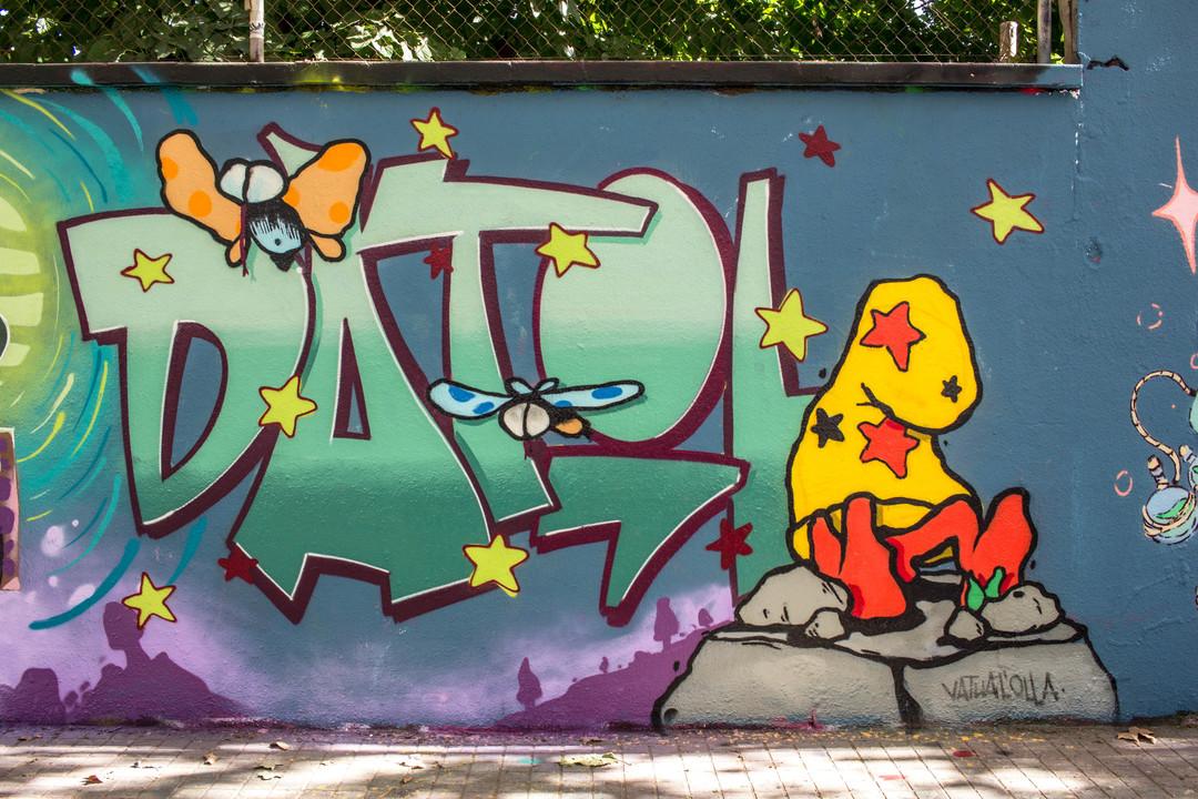 Wallspot - JOAN PIÑOL - VATUA L'OLLA - Barcelona - Agricultura - Graffity - Legal Walls - Illustration - Artist - PolVatuaLOlla