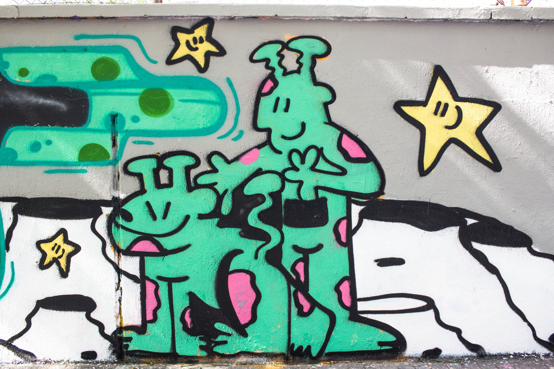 Wallspot - JOAN PIÑOL - CAMIL ESCRUELA - Barcelona - Agricultura - Graffity - Legal Walls - Illustration - Artist - kamil escruela
