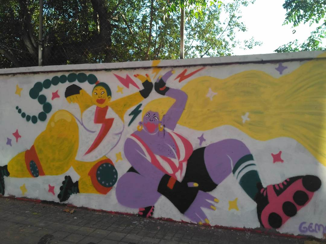 Wallspot - evalop - evalop - Project 20/09/2018 - Barcelona - Agricultura - Graffity - Legal Walls - Il·lustració - Artist - gemfontanals