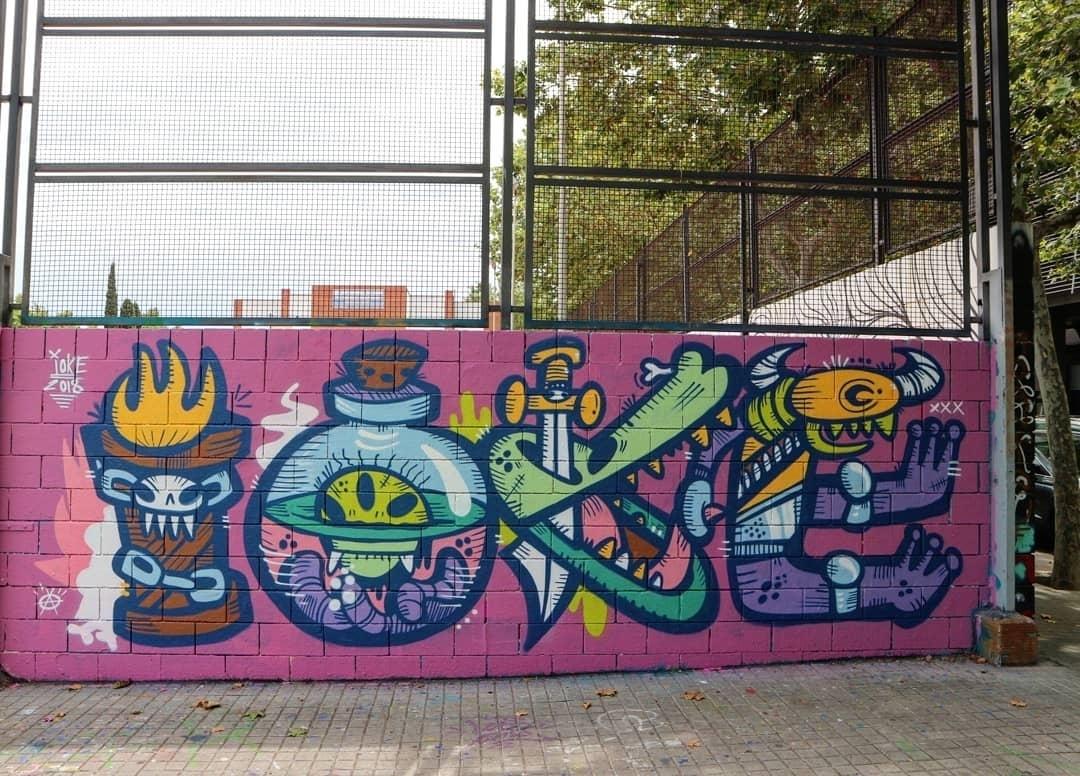Wallspot art ioke