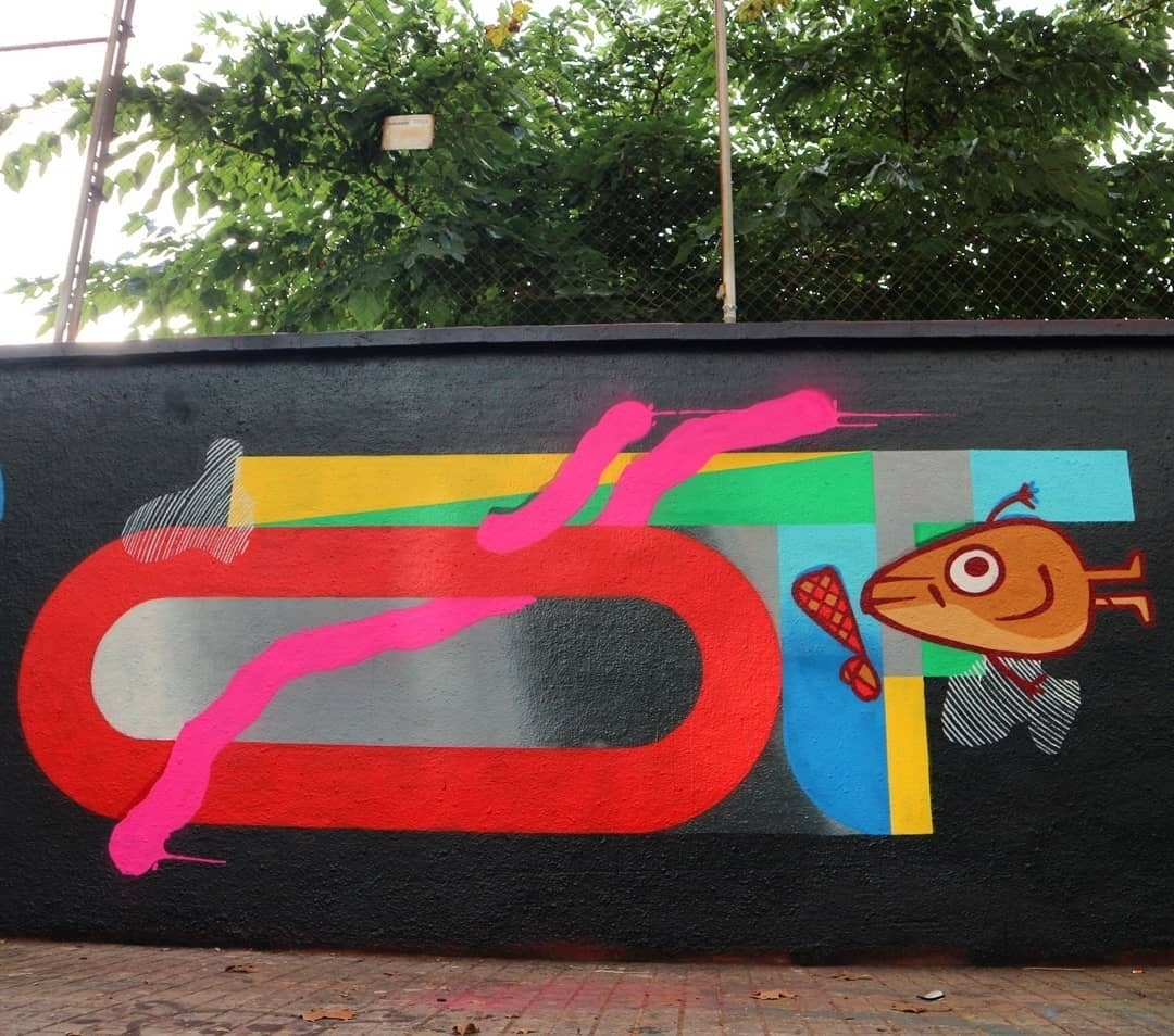 Wallspot - senyorerre3 - Art 2000NCE - Barcelona - Agricultura - Graffity - Legal Walls - ,