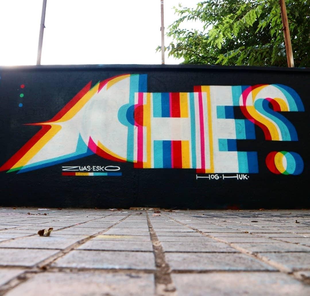 Wallspot - senyorerre3 - Art ACHES - Barcelona - Agricultura - Graffity - Legal Walls - Lletres