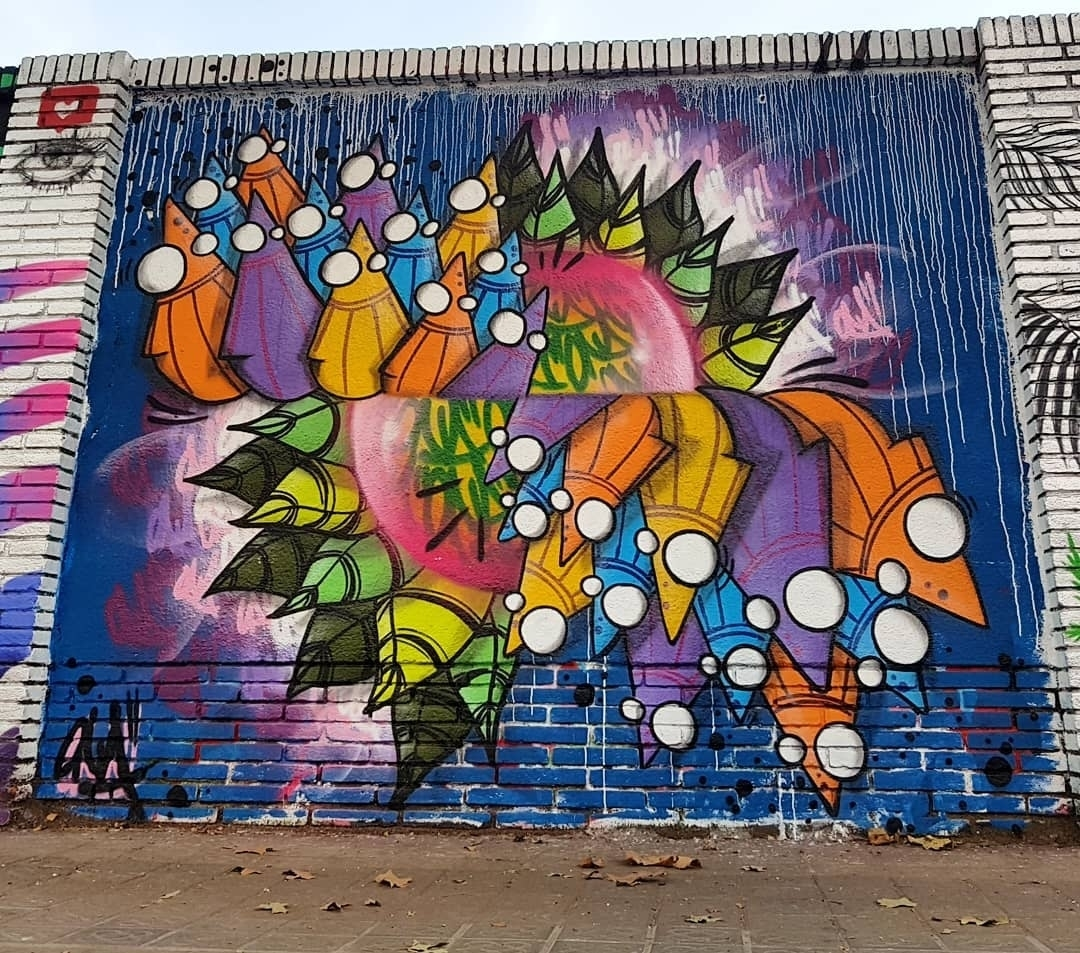Wallspot - senyorerre3 - Art ONA BARCELONA  - Barcelona - Selva de Mar - Graffity - Legal Walls - ,