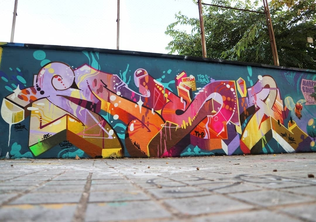 Wallspot - senyorerre3 - Art MUSA - Barcelona - Agricultura - Graffity - Legal Walls - Letters