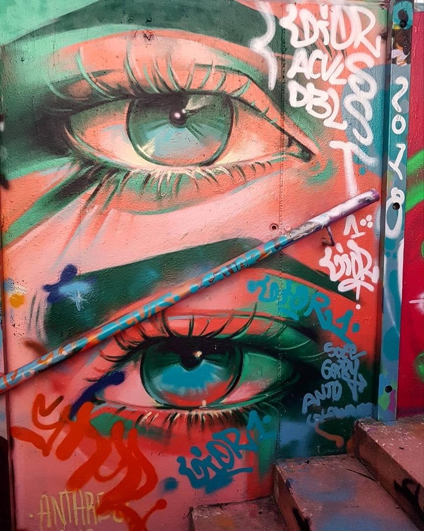 Wallspot - senyorerre3 - Art ANTARES - Barcelona - Mas Guinardó - Graffity - Legal Walls - Ilustración