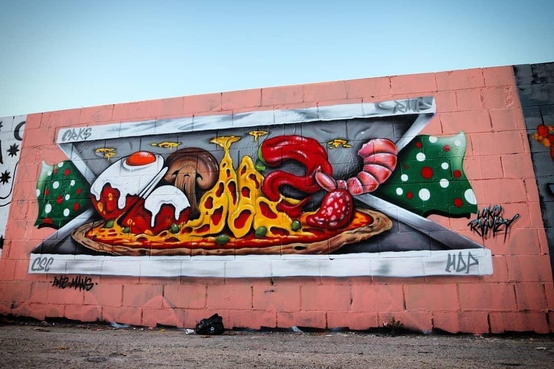 Wallspot - senyorerre3 - Aet LOKO RAMZY - Barcelona - Poble Nou - Graffity - Legal Walls - Lletres, Il·lustració