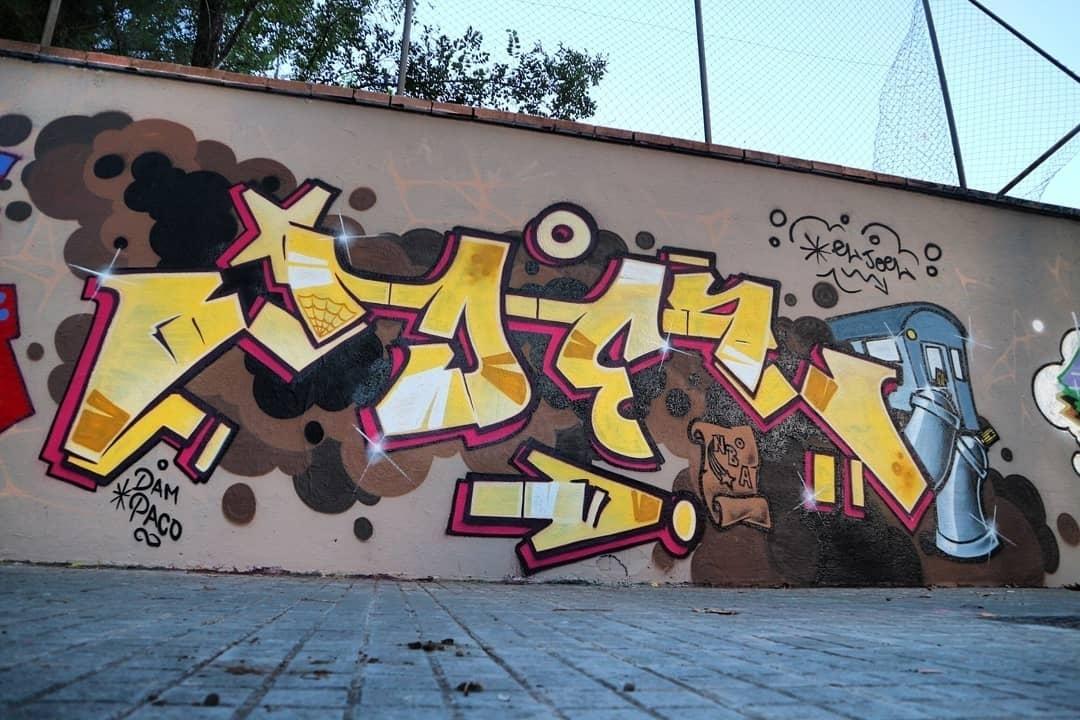 Wallspot - senyorerre3 - Art EL JOEL - Barcelona - Agricultura - Graffity - Legal Walls - Lletres