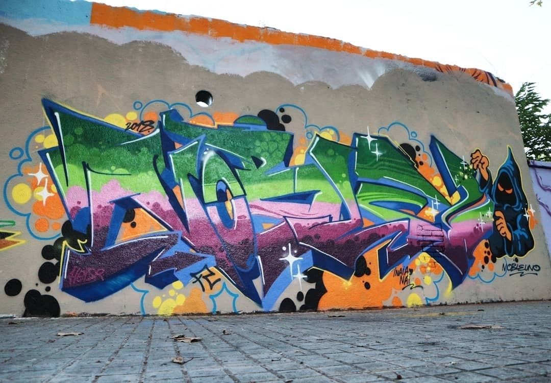 Wallspot - senyorerre3 - Art REALNOBLE - Barcelona - Agricultura - Graffity - Legal Walls - Letras