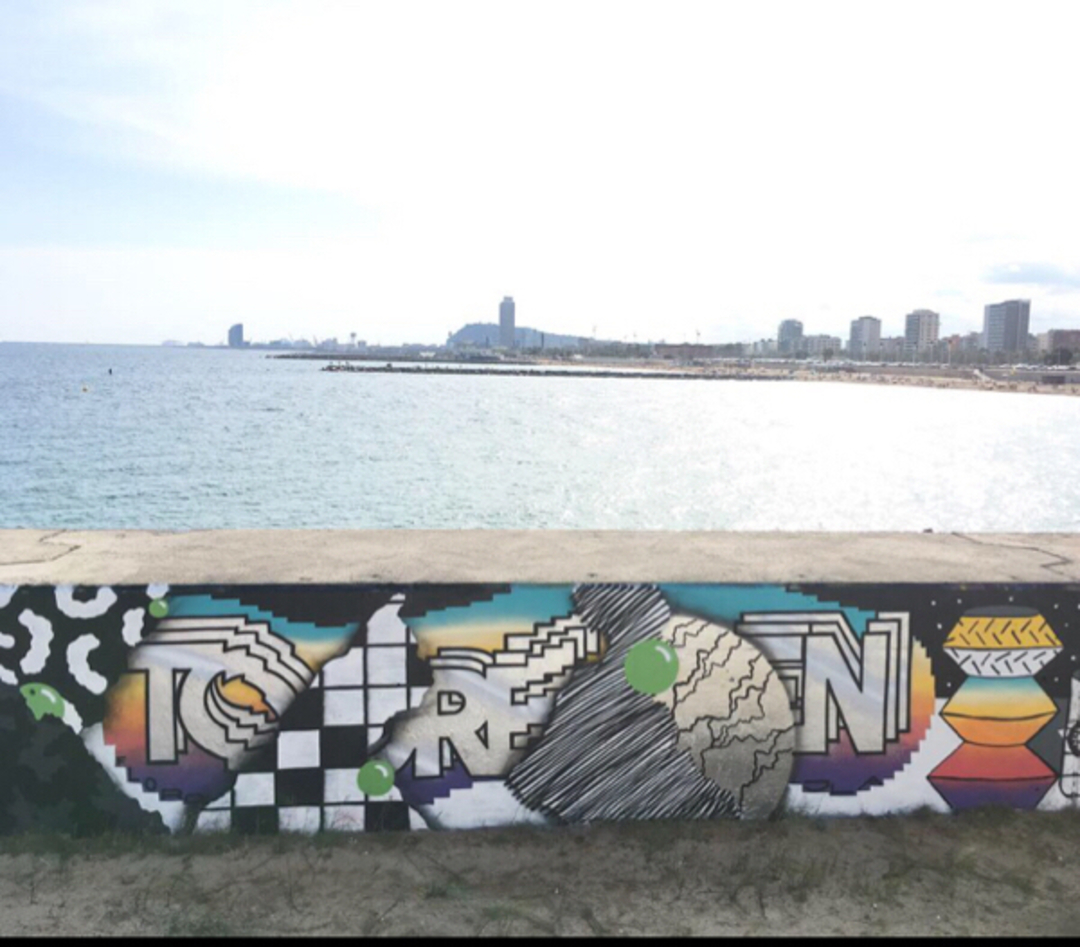 Wallspot - Borneo Modofoker -  - Barcelona - Selva de Mar - Graffity - Legal Walls -