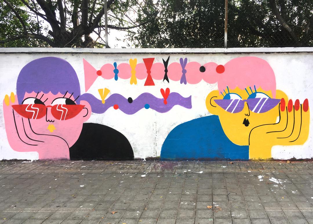 Wallspot - EmilyE - Agricultura - EmilyE - Barcelona - Agricultura - Graffity - Legal Walls -