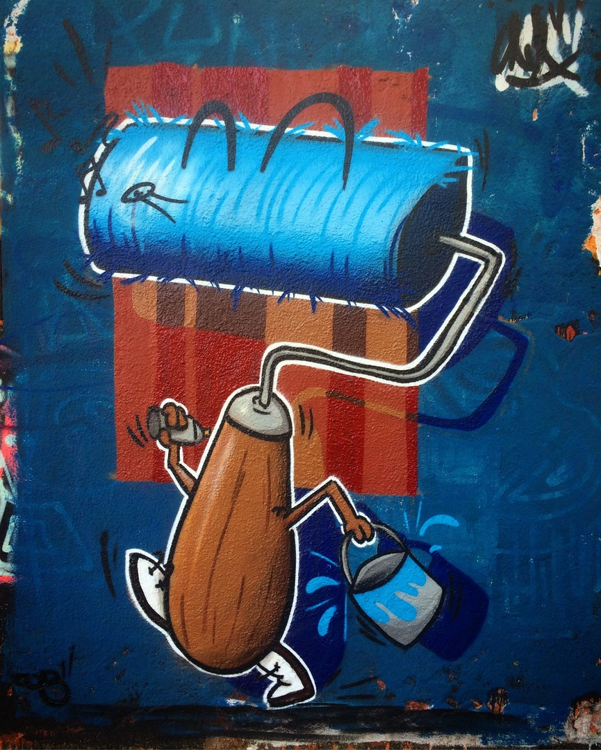 Wallspot - ONA - Western Town - ONA - Barcelona - Western Town - Graffity - Legal Walls - Ilustración, Otros