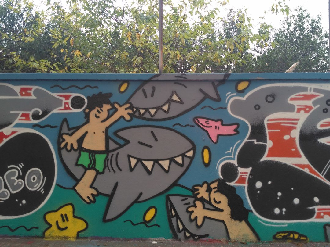 Wallspot - evalop - evalop - Project 12/10/2018 - Barcelona - Agricultura - Graffity - Legal Walls - Illustration - Artist - kamil escruela