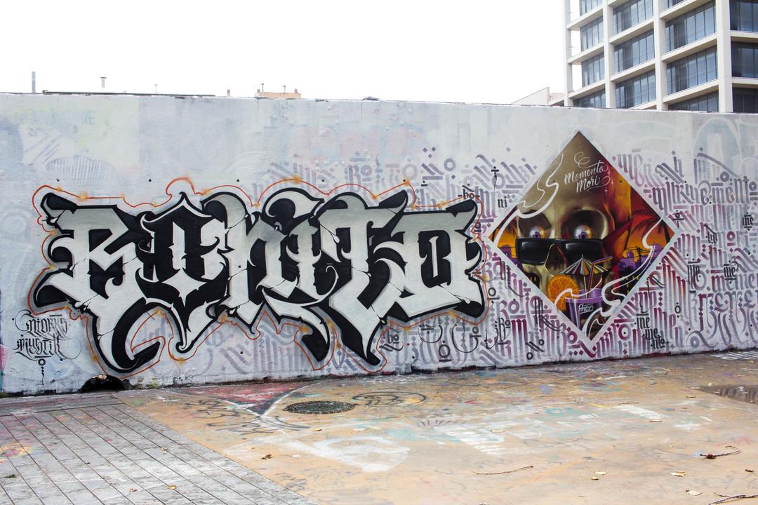 Wallspot - JOAN PIÑOL - PHEN - Barcelona - Tres Xemeneies - Graffity - Legal Walls - Illustration
