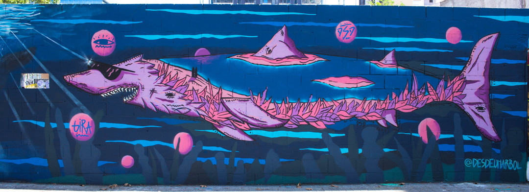 Wallspot - JOAN PIÑOL - JOAN PIÑOL - Projecte 21/10/2018 - Barcelona - Poble Nou - Graffity - Legal Walls - Illustration - Artist - desdeunarbol
