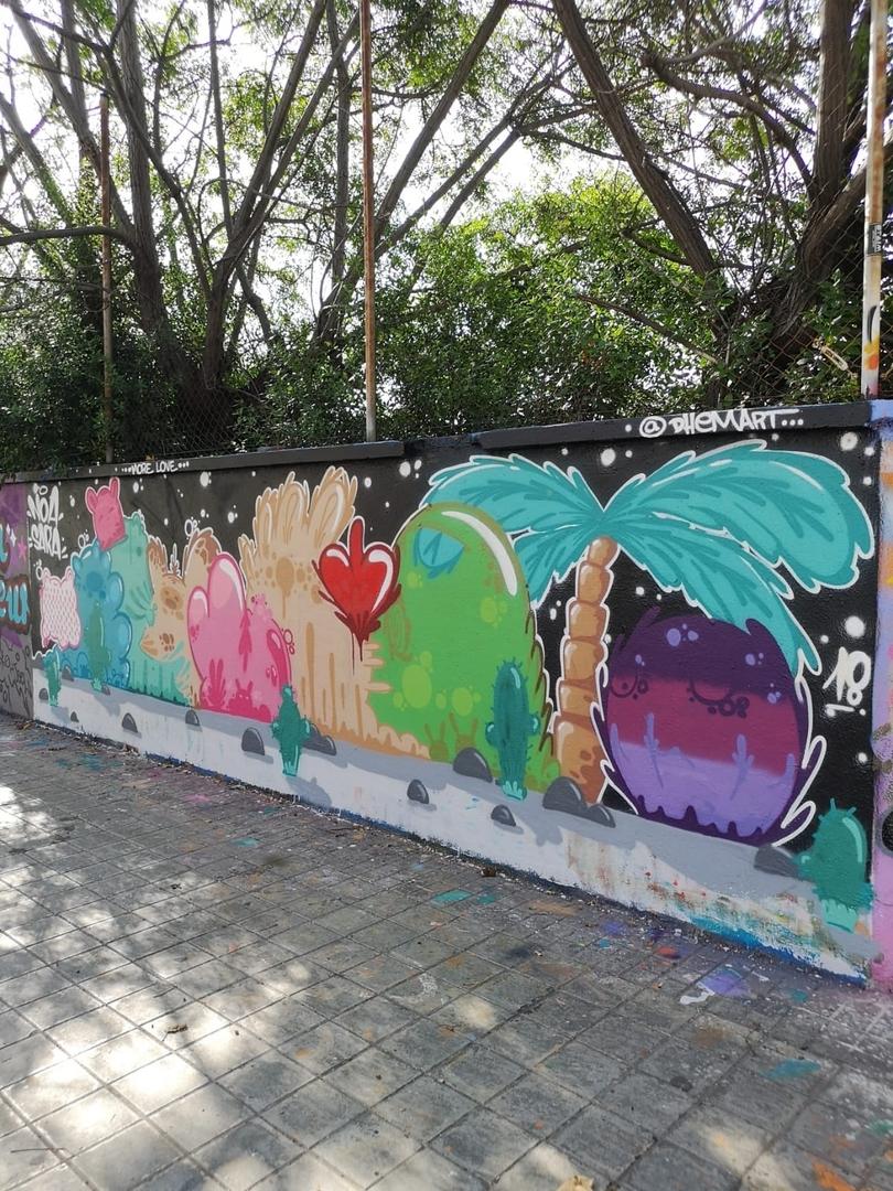 Wallspot - dhemart - Agricultura - Barcelona - Agricultura - Graffity - Legal Walls -