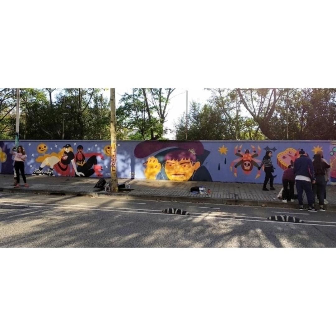 Wallspot - MONI CATO - Vampir - Barcelona - Selva de Mar - Graffity - Legal Walls - Il·lustració