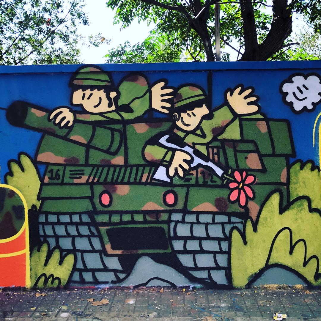 Wallspot - kamil escruela -  - Barcelona - Agricultura - Graffity - Legal Walls - Illustration, Others
