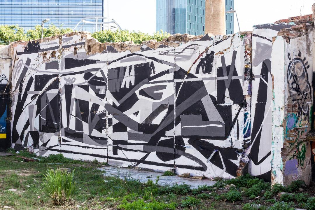 Wallspot - JOAN PIÑOL - JOAN PIÑOL - Projecte 26/10/2018 - Barcelona - Selva de Mar - Graffity - Legal Walls - Illustration - Artist - albertodeblobs