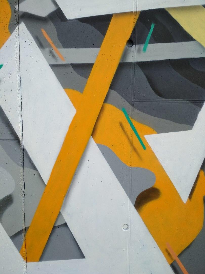 Wallspot - JE73 - Ponte Europa: Segni Urbani. Parma, Italia - JE73 - Parma - Ponte Europa: Segni Urbani. Parma, Italia - Graffity - Legal Walls - Lletres, Il·lustració, Stencil