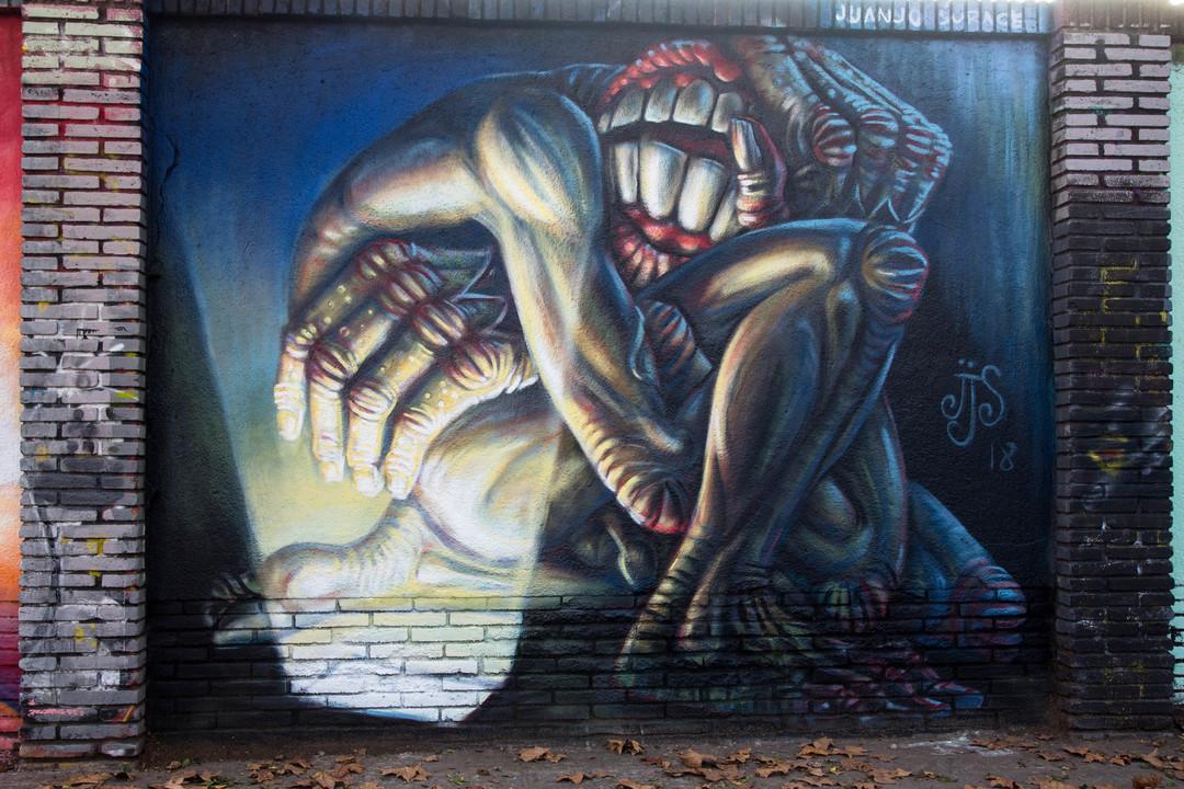 Wallspot - JOAN PIÑOL - JUANJO SURACE - Barcelona - Selva de Mar - Graffity - Legal Walls -  - Artist - Juanjo_Surace