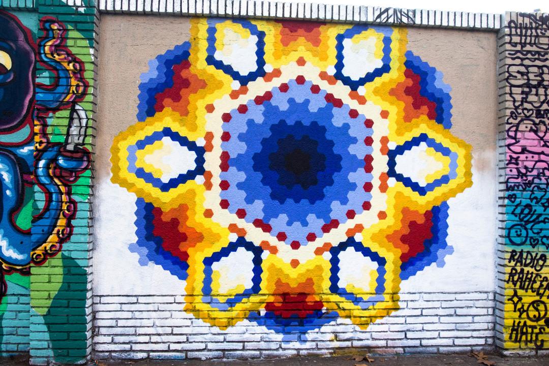 Wallspot - JOAN PIÑOL - JOAN PIÑOL - Projecte 29/10/2018 - Barcelona - Selva de Mar - Graffity - Legal Walls - Illustration