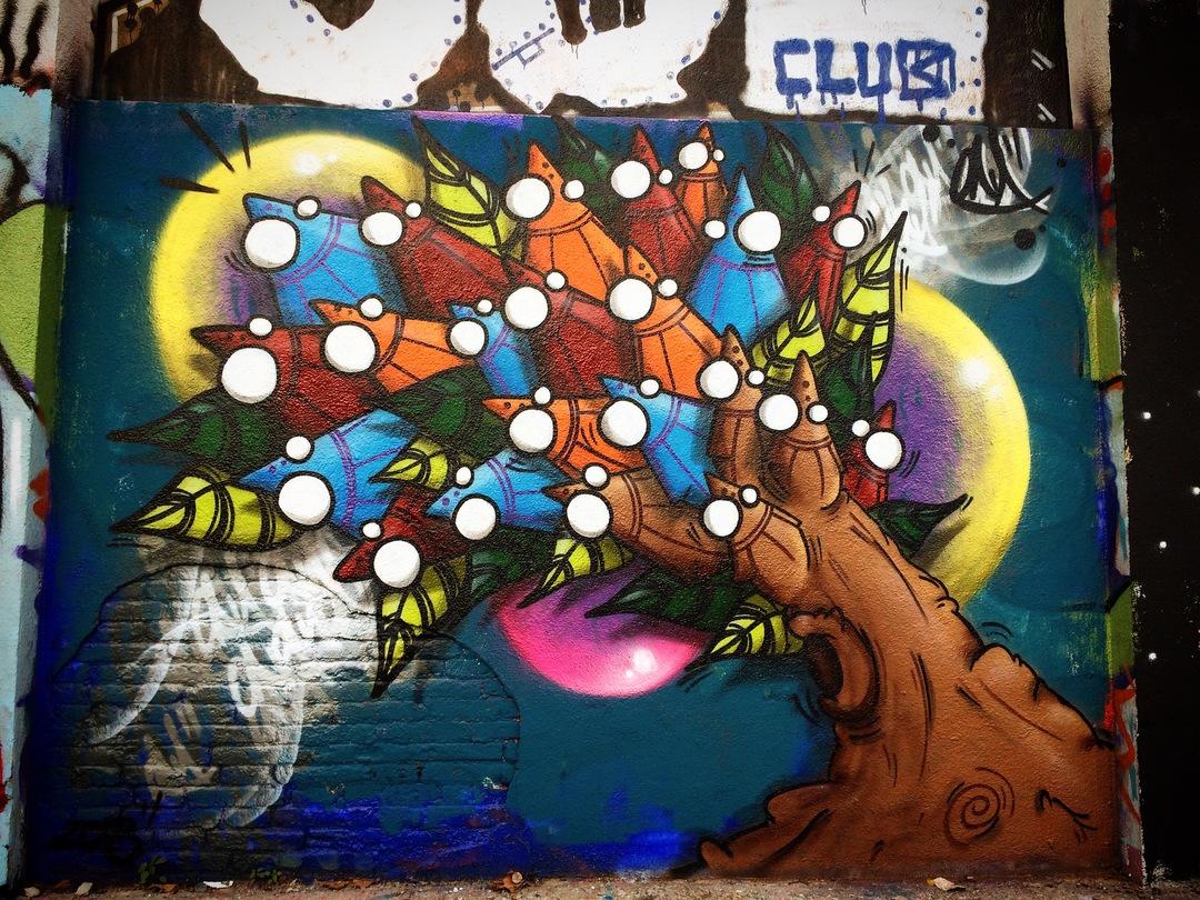 Wallspot - ONA - Agricultura - ONA - Barcelona - Agricultura - Graffity - Legal Walls - Lletres, Il·lustració, Altres