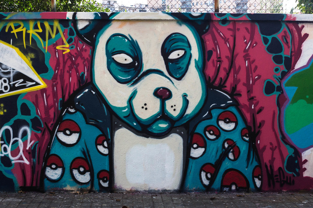 Wallspot - JOAN PIÑOL - MEGUI - Barcelona - Agricultura - Graffity - Legal Walls - Illustration