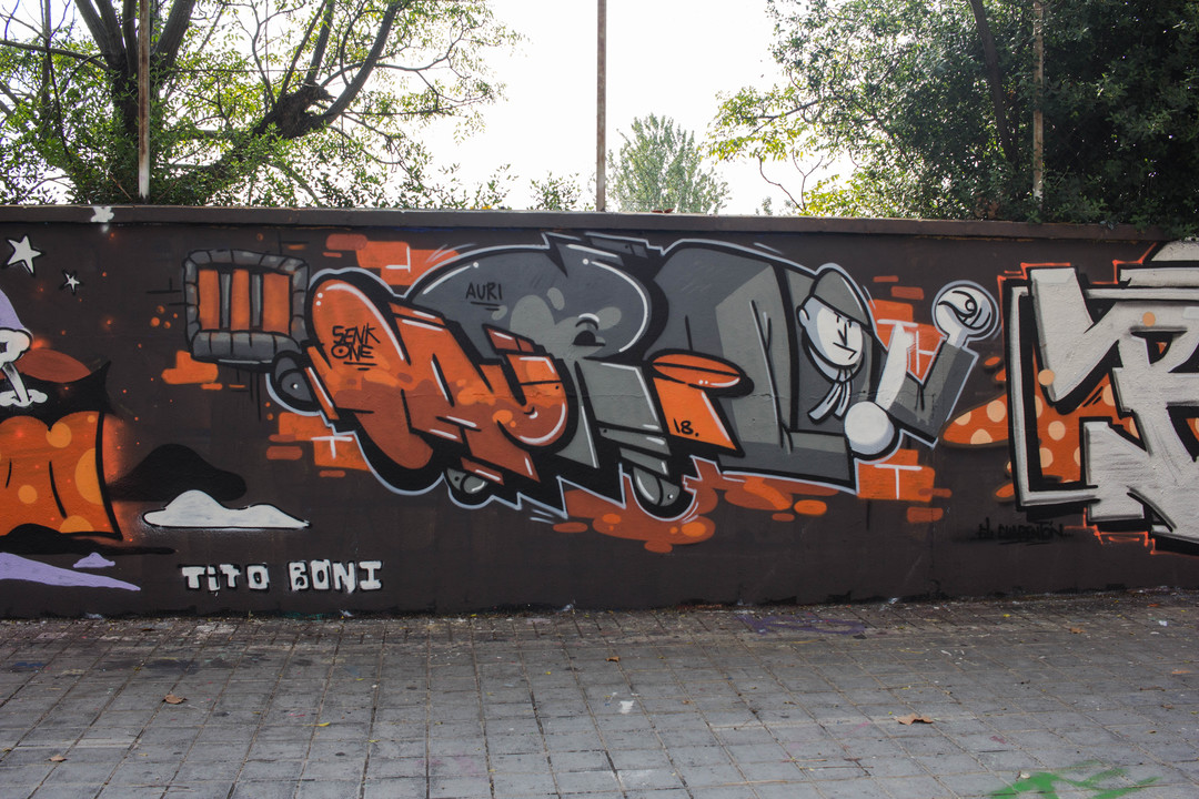Wallspot - JOAN PIÑOL - PROJECTE - Barcelona - Agricultura - Graffity - Legal Walls - Illustration - Artist - bemie