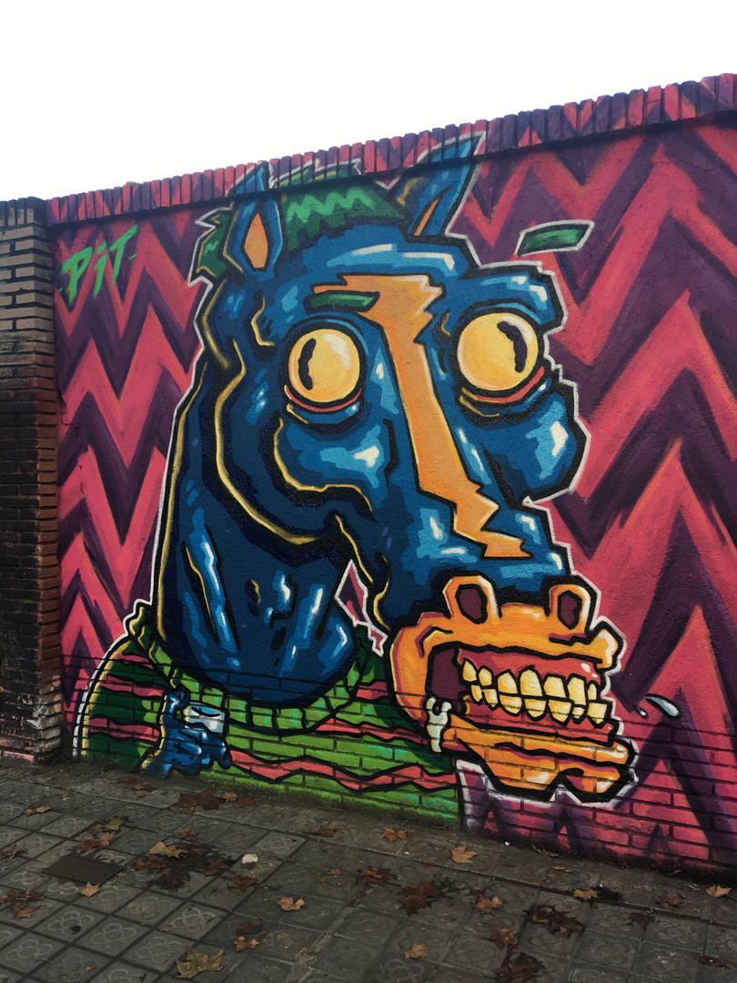 Wallspot - pitarteaga  - Artemio de pastillas  - Barcelona - Selva de Mar - Graffity - Legal Walls -